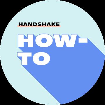 """Instagram post """"Handshake How-to"""""""
