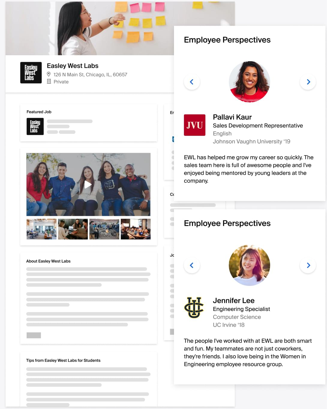 Personalize your employer brand